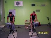 Anthony Kumpen en Bert Longin trainen op het Topsport ABC te Leuven