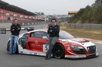 Test Phoenix Racing Audi R8